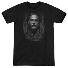 Sons Of Anarchy Jax Mens Adult Heather Ringer Shirt