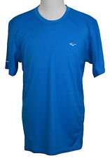 Everlast Fitted EverDri Fitness Workout T-shirt Methyl Blue Tee NWT