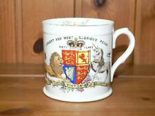 Foley (Pre Shelley)  QUEEN VICTORIA  Diamond 1897 JUBILEE China Mug