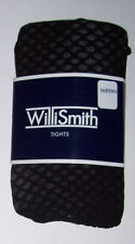 Willi Smith Black Tights - Size Queen/3 Choose solid or pattern Costume Hosiery