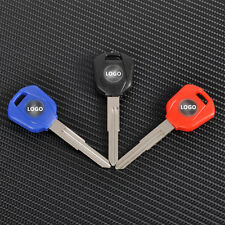 1 pcs Blue/Black/Red Blank blade uncut motorcycle Key fit for Honda CBR CB RC51
