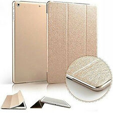 I3C Smart Stand Magnetic Slim Leather Case Cover For Apple iPad With Hard Case