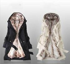 Lady Women New Warm Winter Coat Hood Parka Overcoat Snow Jacket Outwear Hot