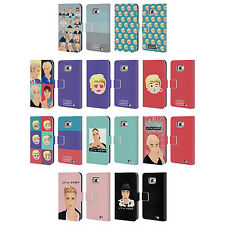 OFFICIAL JUSTIN BIEBER JUSTMOJIS LEATHER BOOK WALLET CASE FOR SAMSUNG PHONES 2