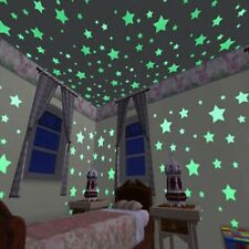 Wall Stickers 100pcs Decal Glow In The Dark Baby Kids Bedroom Home Decor Color S