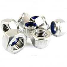 Nyloc Nuts Stainless Steel Lock Nut Nylon Insert A2 M6
