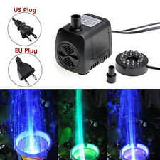210 GPH Submersible Water Pump For Aquarium Fish Tank Pond Fountain WB