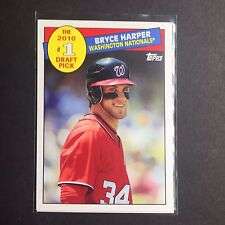 2016 TOPPS ARCHIVES '85 TOPPS #1 DRAFT PICK - Bryce Harper-Pick Your Card
