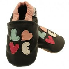 Chaussons Cuir Souple / Love