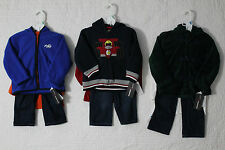 NEW KIDS HEADQUARTERS BOYS 3 PIECE JACKET PANTS OUTFIT SET VARIOUS STYLES NWT$49