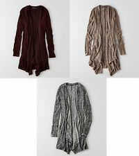 American Eagle Outfitters AEO Feather Light Waterfall Cardigan