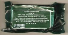 "Medium Israeli Army Bandage IFAK 4"" Emergency Trauma Field Dressing Military"