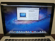 Apple MacBook Pro A1278 Intel Core 2 Duo 2.53GHz 4GB RAM 500GB HDD Lion OS