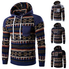 Soft Men's Winter Slim Hoodie Warm Hooded Sweatshirt Coat Jacket Outwear Sweater