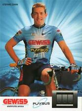 Cycling - Team Gewiss-Playbus x 17, vintage cards, MINT, Berzin, Gotti, Bobrik