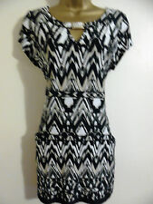 Wallis - size M (12 - 14) - Tunic Top / Dress With Jewel Detail - Lovely..
