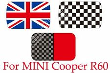 Fashion Checkered Union Jack Sun Roof Decal Stickers Graphic For MINI Cooper R60