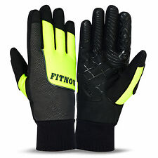 Winter Thermal Windproof Cycling Gloves Full Fingers Bike Bicycle Sports Gloves