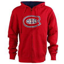 Montreal Canadiens Old Time Hockey Conway Full Zip Hoodie - Red