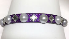 Sugarlicious Pets ® ~Purple Snowflake~ Crystal Rhinestone Dog Pet Cat Collar