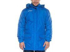 Asics New Alpi Mens Winter Long Warm Fitness Football Running Jacket - Blue