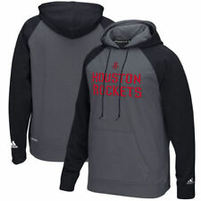 Houston Rockets Adidas Men's Tip-Off Pullover Hood Sweatshirts - Gray