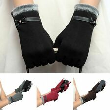 Fashion Womens Gloves Winter Gloves Ladies Cotton Mittens Outdoor Touch Screen