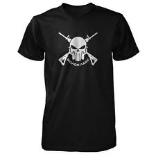 Molon Labe Shirt - Skull & Crossed AR-15s - Greek Come and Take Pro Gun 2A NRA