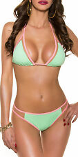 UK Sexy Women Holiday Swimwear Bikini Triangle Set Swimsuit Beach Wear Swimsuit