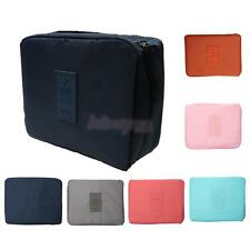 Outdoor Travel Cosmetic Makeup Tool Bag Toiletry Kit Organizer Storage Pouch
