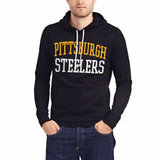 Pittsburgh Steelers Junk Food Half Time Pullover Hoodie - Black - NFL