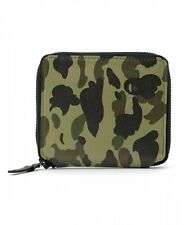 A BATHING APE 1ST CAMO LEATHER WALLET (M) Mens BAPE Original Moneybag From Japan