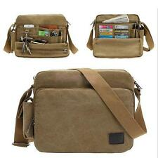 New Canvas School Satchel Messenger Shoulder Bag Working Briefcase - 3 Color