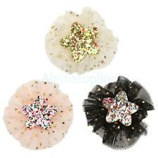 Glitter Sequin Star Shape Baby Girl Hair Accessories Cute Hairpin Clip Clamp