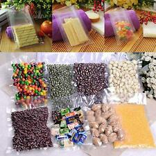 100PCS Vacuum Storage Food Sealer Bag Space Packing Commercial Food Saver 8 Size