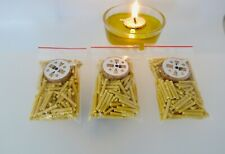 Natural Candle Wicks From beeswax for Floating Candles Cooking Oil Vigil Lamps
