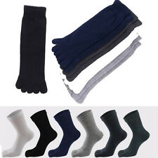 Men's Sports Running Comfortable Five Fingers Toe Socks Stockings Size 6.5-9
