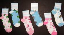 Ladies Womens Girls Animal Novelty Socks with charms 9-11 Cow Frog Monkey Kitty