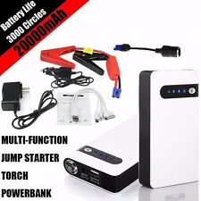 20000mAh 12V Portable Car Jump Starter Power Bank Vehicle Battery Charger