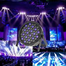RGBW Stage Lighting 70W DMX 7CH PAR Wash Dimmable Strobe 54LED Party CNW F1Y4