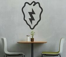 Large 25th Infantry Division Army Tropic Lightning Vinyl Graphic Decal Sticker