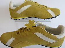 Atom Edison AT027-M Mens Yellow / Beige Trainers UK 9 X 11 (R23A)