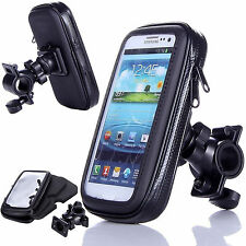 Bicycle Bike Rotating Waterproof Mount Holder Cycle Case Cover for Mobile Phones