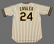 MIKE EASLER Pittsburgh Pirates 1977 Majestic Cooperstown Home Baseball Jersey