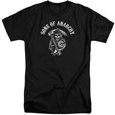 Sons Of Anarchy Soa Reaper Mens Big and Tall Shirt