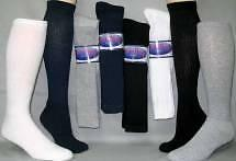 Mens Womens Over The Calf Crew Socks Assorted Colors Sizes 12 Pair