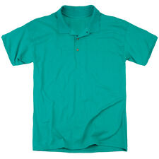 Justice League Green Lantern Panels (Back Print) Mens Polo Shirt Kelly Green