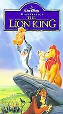 Walt Disney Masterpiece The Lion King VHS New & Sealed