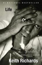 LIFE PAPERBACK BOOK BY KEITH RICHARDS AUTOBIOGRAPHY ROLLING STONES