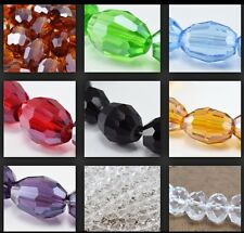 New Crystal Oval Faceted Beads for Jewelry or Decoration,Chandelier Making